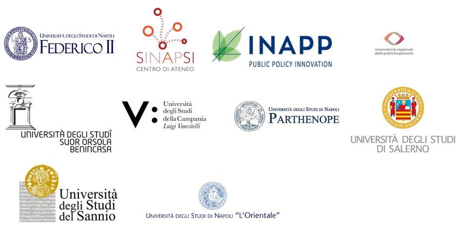 Immagine con i loghi delle università e degli enti che partecipano all'iniziativa