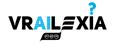 Logo del progetto VRAILEXIA, con la scritta VRAILEXIA e piccoli elementi grafici - Collegamento alla pagina del progetto Vrailexia