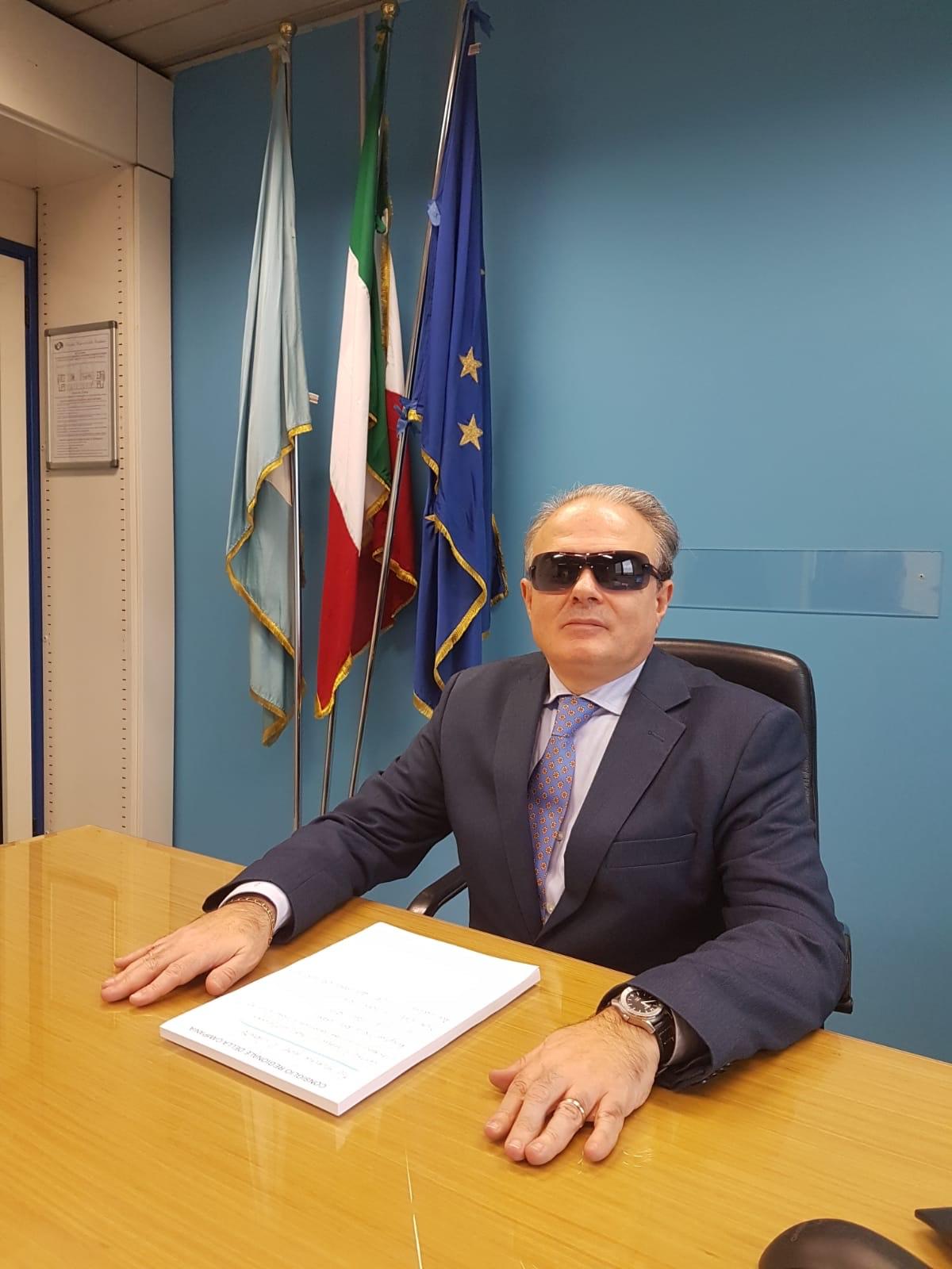 foto del Garante delle persone con disabilità della Regione Campania, avv. Paolo Colombo