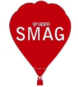 Logo image a hot air balloon