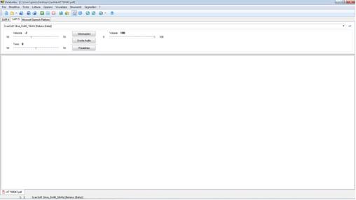 fig. 3 Interfaccia utente di Balabolka
