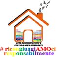 Logo della Sezione Anti-discriminazione e Cultura delle Differenze con scritta multicolore # ricongiungiamoci responsabilmente