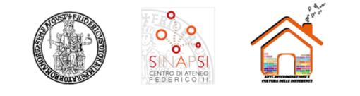Immagine dei loghi: unina, sinapsi, Anti discriminazione