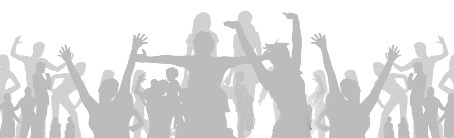 image of young people dancing and talking