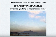 Convegno 'Slow Medical Education - Il tempo giusto per apprendere a curare'