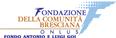 Logo della Fondazione della Comunità Bresciana ONLUS - Fondo Antonio e Lugi Goi