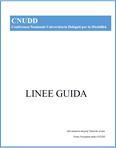 frontespizio delle linee guida cnudd 2014