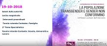 Congresso ONIG 'La Popolazione Transgender e Gender Nonconforming'