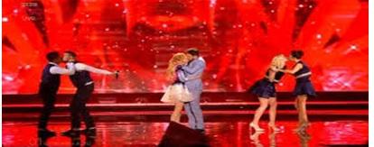 l'esibizione dei baci all'Eurovision