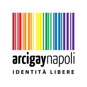 Logo Arcigaynapoli Identità Libere. Clicca per visitare il sito.