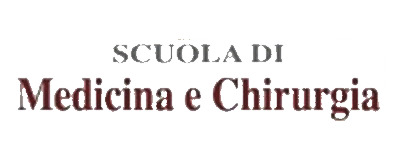 Logo della Scuola di Medicina e Chirurgia. Clicca per visitare il sito.