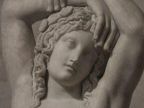 Immagine dell'Ermafrodito unico nel mito greco, che aveva vissuto parte della propria esistenza sia come uomo che come donna.