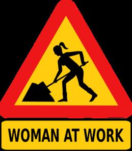 Donna a lavoro