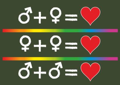 equazioni dell'amore delle varie forme di sessualità