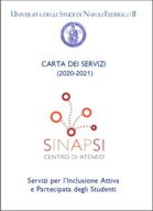 frontespizio della Carta dei servizi