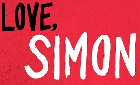 scritta Love Simon
