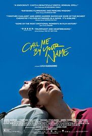 locandina del film call me by your name